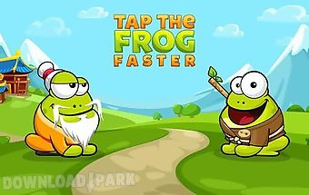 Tap the frog faster