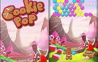 Cookie pop: bubble shooter