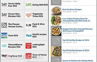 Cooking magazines rss reader