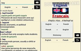 French -english translator