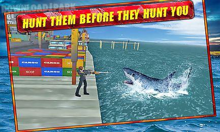 hungry blue shark revenge