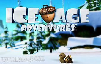 Ice age. adventures.