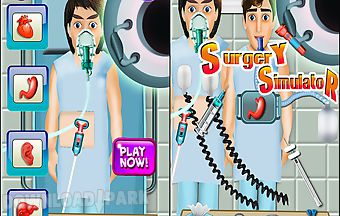 Surgery simulator game