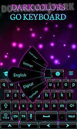 dark colors go keyboard theme