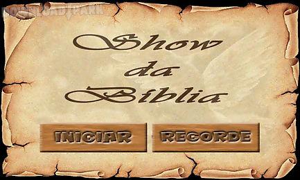 show da bíblia