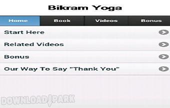 Bikram yoga app