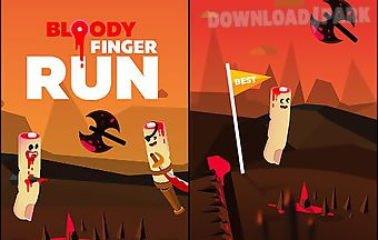 Bloody finger run