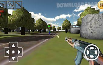 Craft gunman 3d