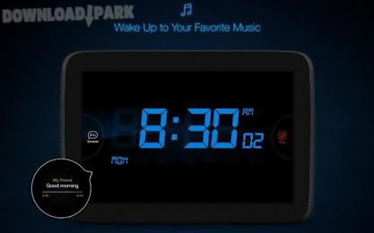 my alarm clock select