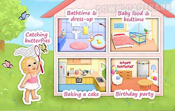 Sweet baby girl - dream house - ..