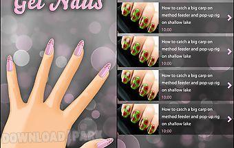 Trendy gel nail art free