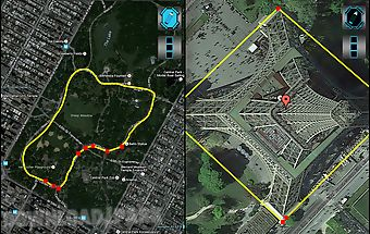 Maps distance ruler lite