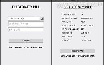 Mseb - electricity bill