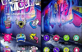 We are young go launcher theme