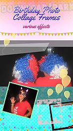birthday photo collage frames