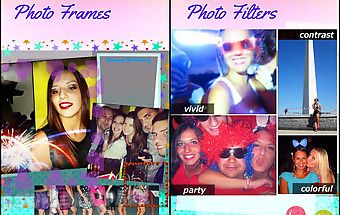 Birthday photo collage frames