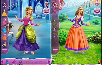 Dress up princess cinderella
