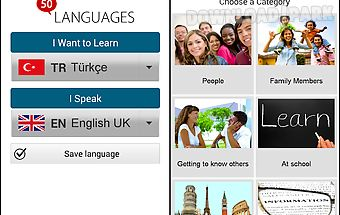 Learn turkish - 50 languages
