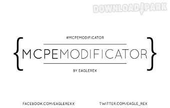 Mods & maps-mcpe modificator