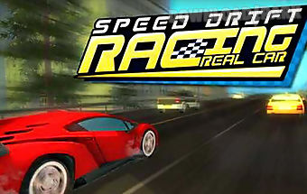 Real car speed drift racing