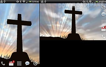 3d cross free live wallpaper