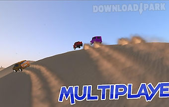 4x4 truck racing game in dubai