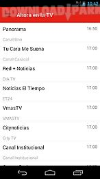 colombian television guide
