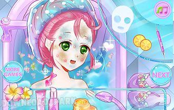 Make up spa games for girls