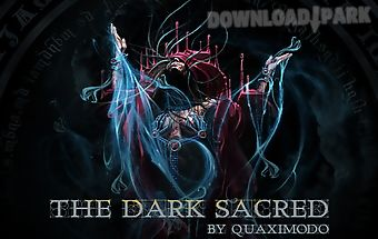 The dark sacred go theme