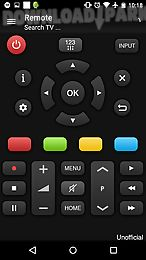remote for panasonic tv