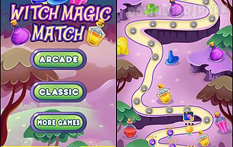 Witch magic: match 3