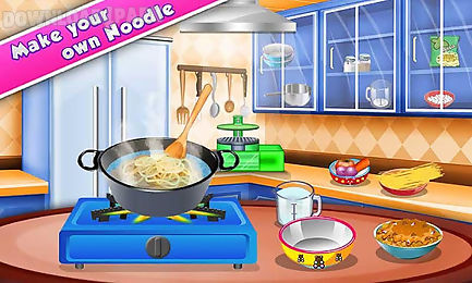 noodle maker – cooking game