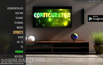 Configurator4kodi iptv