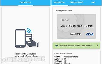Credit card reader nfc (emv)
