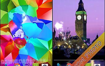 Crystal s5 live wallpaper