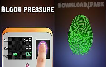 Finger blood pressure scanner