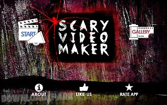 Scary video maker