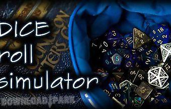 Dice roll simulator