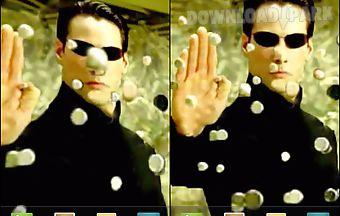 Neo in the matrix live wallpaper