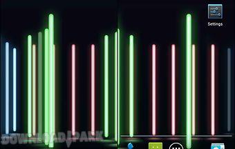 Neon lights 3d live wallpaper