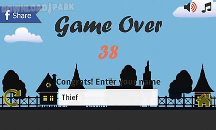running thief