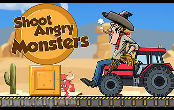 Shoot angry monsters