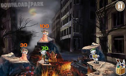 Worms Vs Zombies Android Juego Gratis Descargar Apk