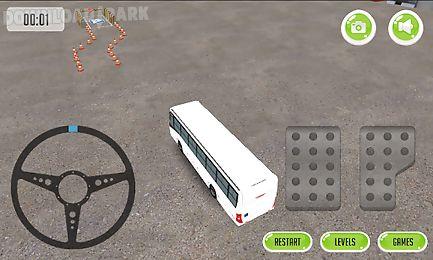 bus parking 3d 2015