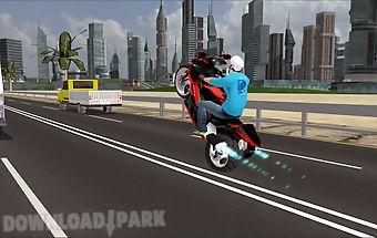 Highway speed bike racing
