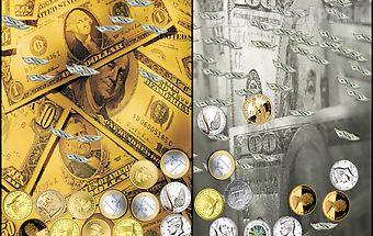Live wallpaper - money magnate