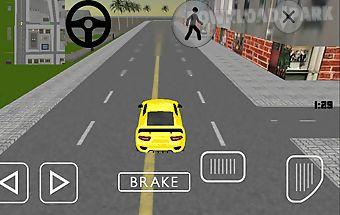 Luxury sports car simulator