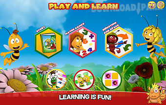 Maya the bee: play and learn