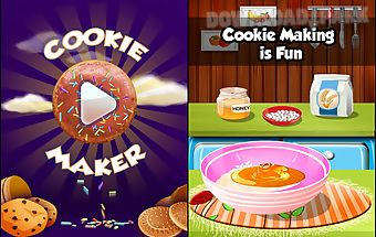 Sweet cookie maker kids food
