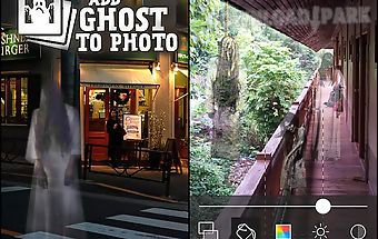 Add ghost to photo